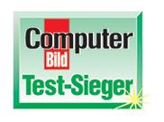 Dieses Produkt hat im COMPUTER BILD Test in seiner Kategorie gesiegt.